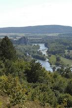 Photo: Krásny výhľad cestou na Sandberg. Vdiaľke sa týčí Hrad Devín.