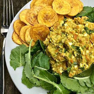 Curried Avocado Egg Salad.