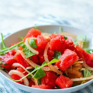 Watermelon Mint & Feta Salad.