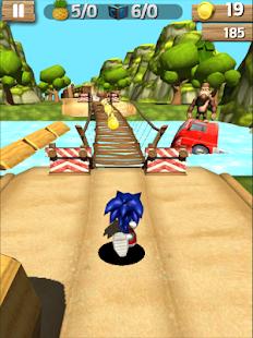 Super Sonic Jungle Adventure Run - náhled