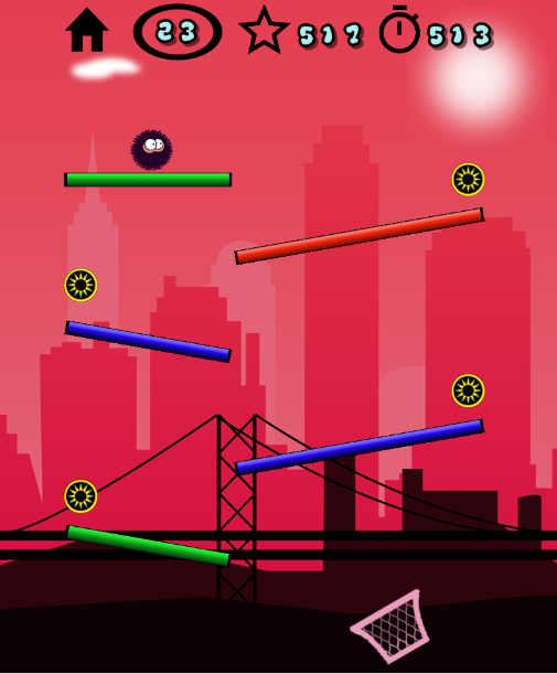 Bushy Ball- screenshot