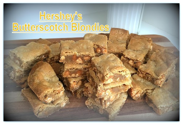 Hershey's Butterscotch Blondies Recipe