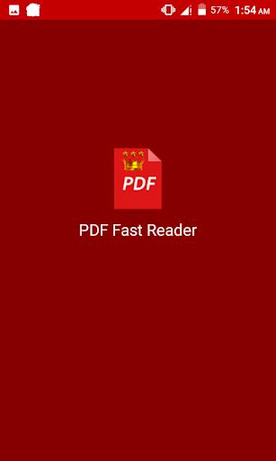 PDF Fast Reader 1.0.4 screenshots 3