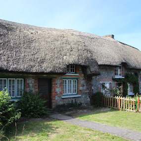 Adare Thatched Roof by Janet Smothers - Buildings & Architecture Other Exteriors