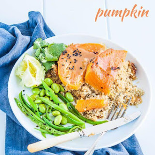 Miso Honey Pumpkin with Quinoa