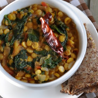 Indian Spinach Lentils Recipes