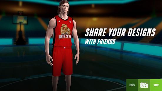 バスケットボールジャージーエディター-私のバスケットボールチーム