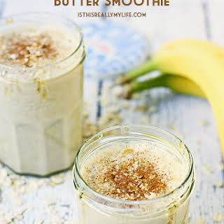 Oatmeal Peanut Butter Smoothie.