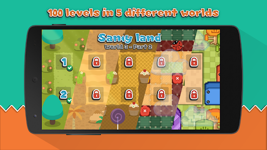Sokoban Land DX - Pocket Edition Screenshot