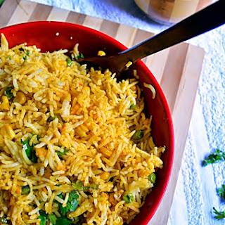 Corn Peas Pulao Recipe   How To Make Peas-corn Pulao