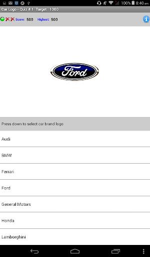 My Passion Car- Logo Quiz Game 2.7 screenshots 8