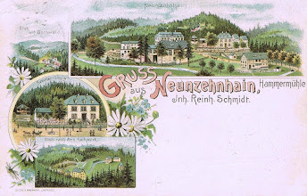 Photo: Hammermühle Neunzehnhain 1898