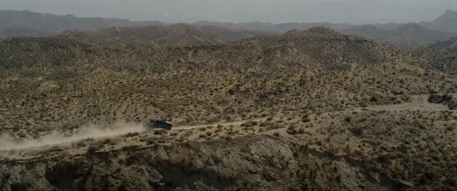 El Desierto de Tabernas, en un fotograma del tráiler.