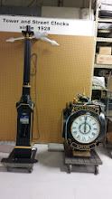 Photo: Clock ready to be shipped to Scottsdale, AZ from the Electric Time Company of Medfield, MA
