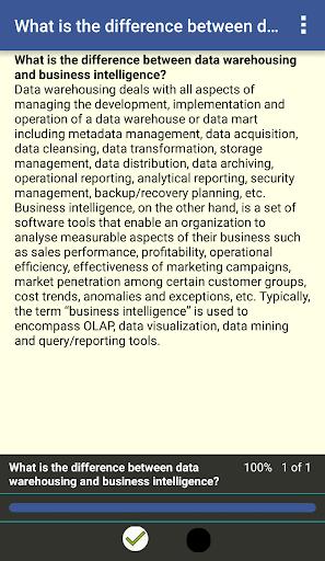 EduQuiz: Data Warehousing 1.0 screenshots 8