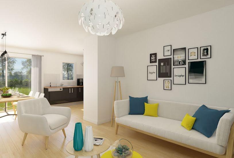 Vente Terrain + Maison - Terrain : 482m² - Maison : 75m² à Ambillou (37340)
