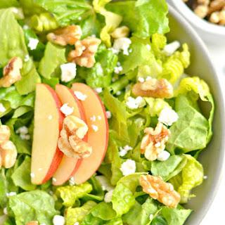 Balsamic Apple Walnut Salad {GF, Low Cal}