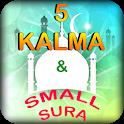 5 kalima english or 4 kalima islamic app icon