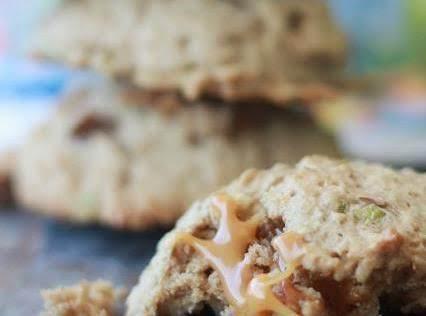 Caramel Apple Whiskey Cookies