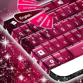 Pink Keyboard Free Messaging