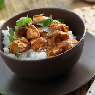 Chicken Curry with Potato and Bell Pepper