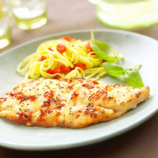 Broiled Tilapia Fillets With Lemon and Butter.