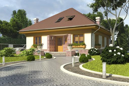 projekt Alinka bez garażu B