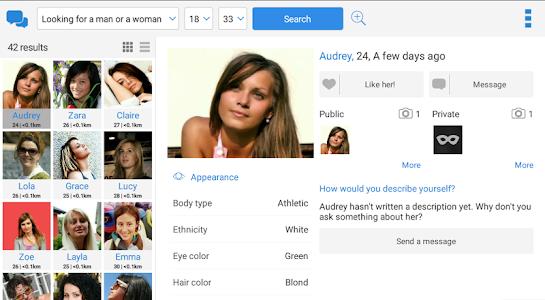 aplikacija za upoznavanje novih djevojčica