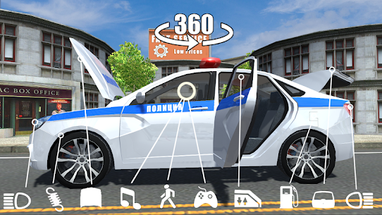 Russian Cars Simulator Apk Download For Android and Iphone 2