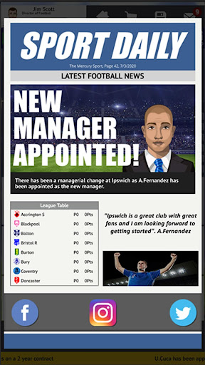 Club Soccer Director 2021 - Soccer Club Manager screenshots 3