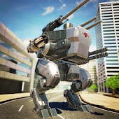 Mech Wars: Multiplayer Robots Battle Android APK Download Free By Momend Ltd.