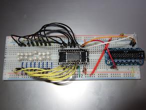 Photo: LED driver IC test circuit