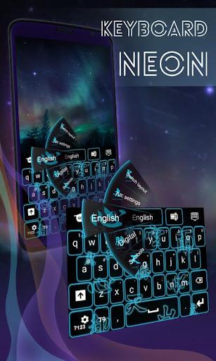 霓虹燈鍵盤符號