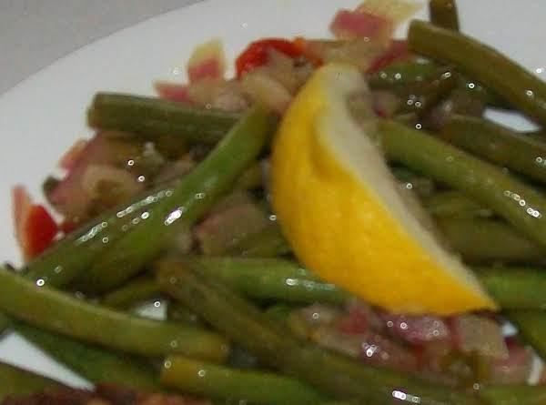 Bread & Butter Fresh Green Beans Recipe