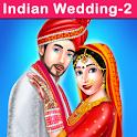 Indian Wedding Part2 - Royal Wedding Makeup Games icon
