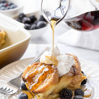 Simple French Toast Bake.
