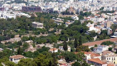 Photo: View of the Temple of Hephaestus