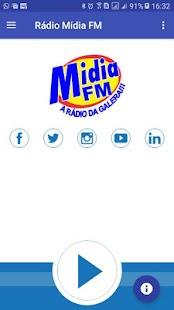 Rádio Mídia FM - A Rádio da Galera - náhled