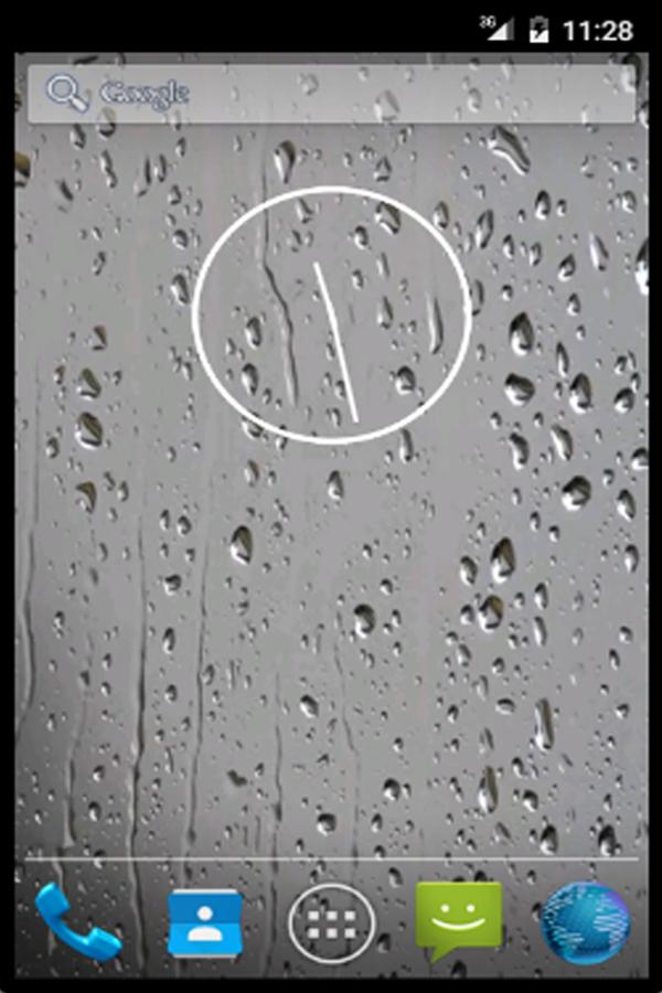 Σταγονες Βροχης Ζωντανη - στιγμιότυπο οθόνης