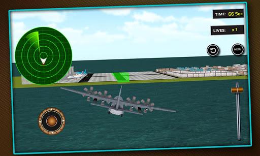 Airplane Car Transporter Pilot
