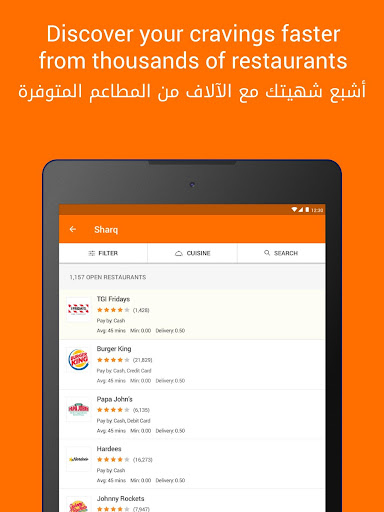 Talabat: Food Delivery 4.9.5 screenshots 10