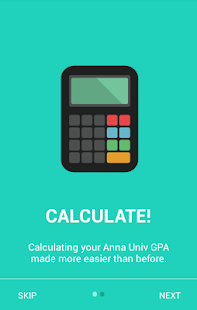 GPA/CGPA Calculator - náhled