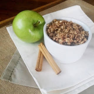 Healthy Apple Crumble.