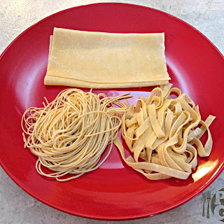 How to make Pasta – Ravioli Sheets, Fettuccine and Angel Hair Pasta.