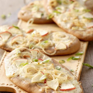 Nutty Flatbreads with Topping
