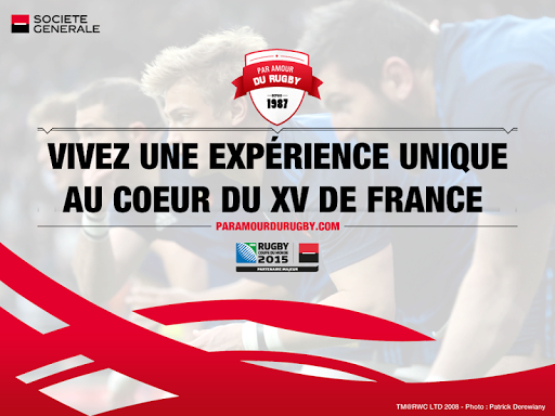 Le XV de France en 360°