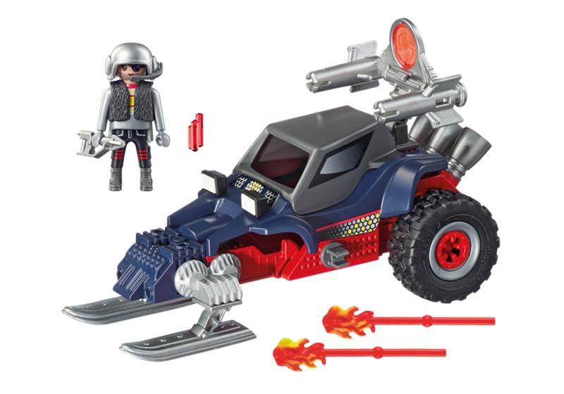 Contenido real de Playmobil® 9058 Racer con Pirata del Hielo