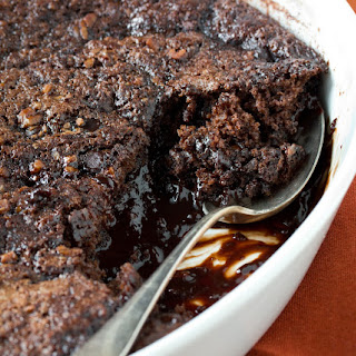 Old-Fashioned Chocolate Cobbler.