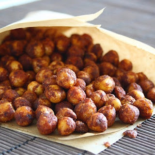 Pan-Fried Spiced Chickpeas.
