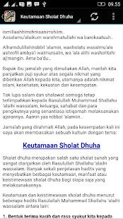 Ceramah Islam Perintah Sholat App Report On Mobile Action